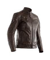 RST Roadster II Jacket CE Leather Brown Size X
