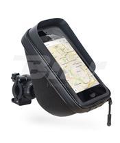 Soporte al manillar + funda + bolsillo 1L para Smartphone 6.6''