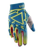 LEATT GPX 4.5 Lite Yellow/Blue Gloves Size S (EU7 - US8)