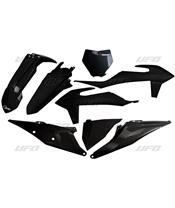Kit plastiques UFO noir KTM SX/SX-F