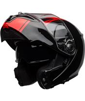 BELL SRT Modular Helm Ribbon Gloss Black/Red Gr