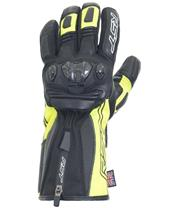 RST Ladies Paragon V CE Waterproof Gloves Leather/Textile Flo Yellow Size S/06
