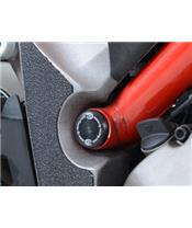 Insert de cadre haut droit R&G RACING noir Ducati Multistrada 1200