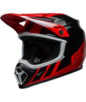 BELL MX-9 Mips Helmet Dash Black/Red