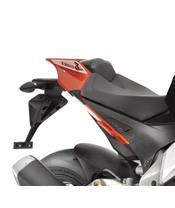 R&G RACING Rear Shell Sliders Carbon Aprilia RSV4