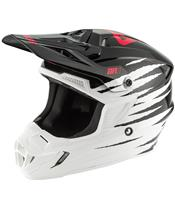 ANSWER AR1 Pro Glow Helm White/Black/Pink Größe