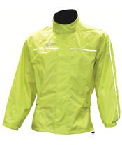OXFORD Rain Jacket in Fluorescent Yellow,