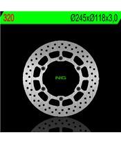 Disque de frein NG 320 rond fixe