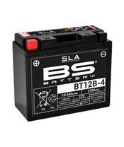Batterie BS BATTERY BT12B-4 SLA sans entretien activée usine