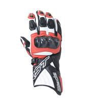 RST Blade II CE Gloves Leather Red Siz