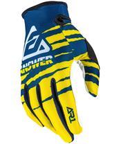 ANSWER AR1 Pro Glow Gloves Yellow/Midnight/White