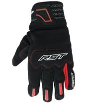 RST Rider Gloves CE Mixed Textiles Red Siz