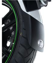 R&G RACING Black Front Fender Extensions Yamaha Tracer 700