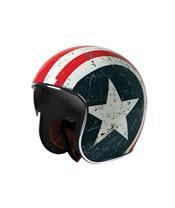 Casque ORIGINE Rebel Star bleu/blanc/rouge