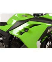 R&G RACING Aero Crash Pads Black Kawasaki Ninja 300