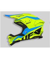 UFO Diamond Helmet Neon Yellow/Blue