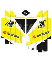 Adhesivos rejillas de radiador Blackbird Suzuki Standard A304E
