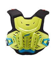 LEATT 2.5 Chest Protector Lime/Blue Size Junior 147-159cm
