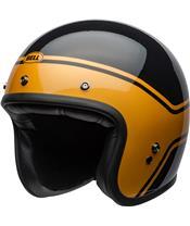 BELL Custom 500 DLX Helm Streak Gloss Black/Gold Größe
