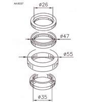 Kit rodamientos de columna de dirección BUZZETTI