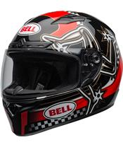 Casque BELL Qualifier DLX Mips Isle of Man 2020 Gloss Red/Black