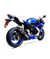 Silencieux Scorpion RP1-GP (simple) carbone Suzuki GSX-R600
