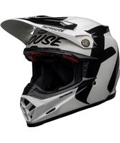 BELL Moto-9 Flex Helm Fasthouse Newhall Gloss White/Black Größe