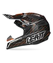 Casque LEATT GPX 6.5 junior carbone orange/noir/gris taille Jr M