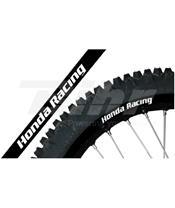AUTOCOLANTE Jante Blackbird Crystal Honda Racing preto 5068R/20
