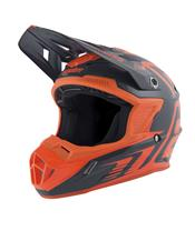 ANSWER Helm AR1 Edge Charcoal/Orange Fluo - Größe