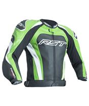 RST TracTech Evo 3 Jacket CE Leather Green