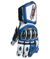 RST Tractech Evo R CE Gloves Leather Blue Siz