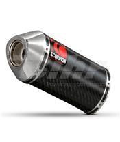 Escape Scorpion Carbine Honda CBR F4i 600 (01-08) Carbono/Inox