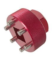 JMP Spanner Nut Socket for Steering Stem ID23mm/OD31.5mm 6 Pins MV Agusta