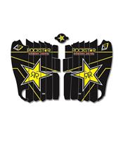 Kit déco de cache radiateur BLACKBIRD Rockstar Energy Yamaha YZ450F