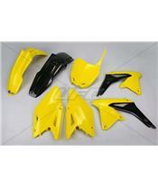 UFO Plastic Kit OEM Color (2014) Yellow/Black Suzuki RM-Z450
