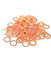 Arruela cobre 10X16X1,5 saco de 100 peças R100160GC/100