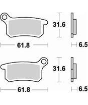 Plaquettes de frein BRAKING 873CM44 métal fritté KTM/Husqvarna