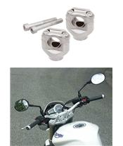 BAR MOUNTS FOR SUZUKI GSF1200 BANDIT '95-06, TRIUMPH STREET TRIPLE 675 '07-08, TIGER 1050 '07-08, YAMAHA FZ1 '06-08.