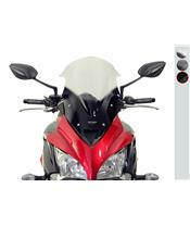 "MRA Racing ""RM"" Windshield Black Suzuki GSX-S1000F"