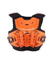 LEATT 4.5 Chest Protector Orange/White Size Junior 134-146cm