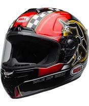 BELL SRT Helmet Isle of Man 2020 Gloss Black/Red