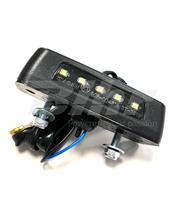 Luz de matricula LED V Parts Universal 12V0.5W 86x29mm