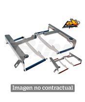 Protectores de radiador aluminio azul AXP Suzuki AX3061