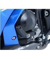 R&G RACING Left Engine Slider Black Suzuki GSX-R1000