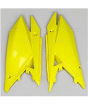 Plaques latérales UFO jaune Suzuki RM-Z450