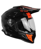 Casque JUST1 J34 Adventure Shape Red Neon Gloss