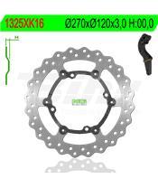 Disco de travão NG kit ondulado1325XK16 Ø270 x Ø120 x 3