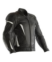 RST GT CE Leather Jacket White