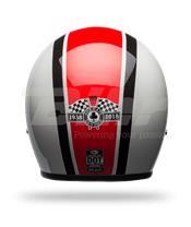 Casco Bell Custom 500 SE ACE Stadium  Plata/Rojo/Negro Talla XS (Incluye bolsa de piel)